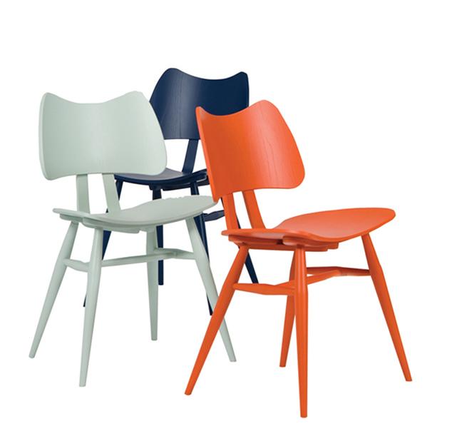 Renkli Ercol Sandalyeleri