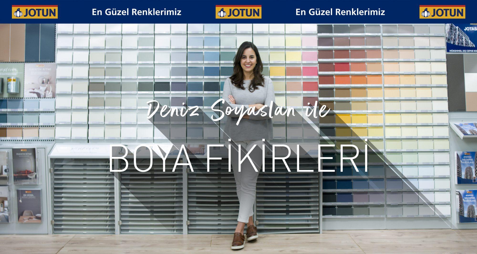Renk, Boya ve Dekorasyona Dair Her Şey YouTube Kanalımızda!