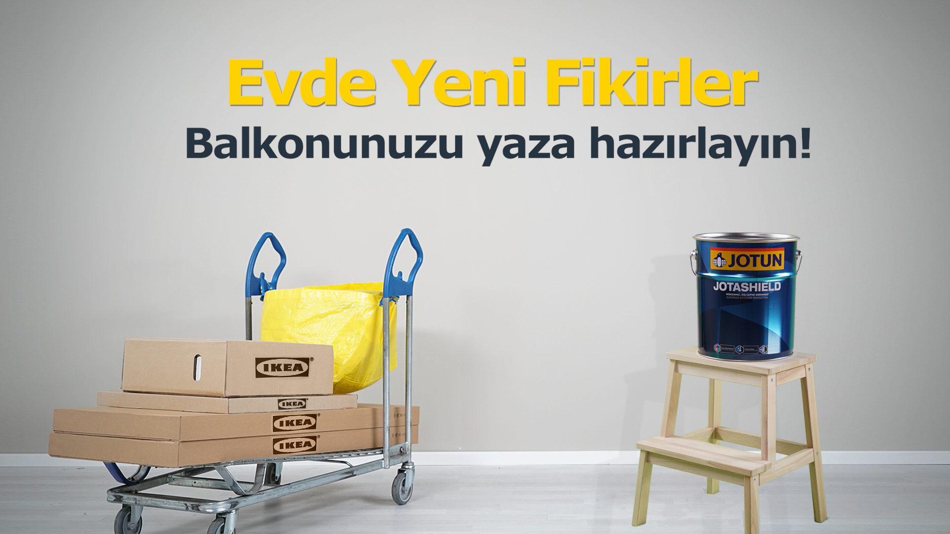 JOTUN X IKEA: EVLERDE YENİ FİKİRLER